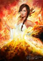 Katniss Everdeen - The Girl on Fire by Patsie