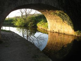 canal bridge t'other side by RTyStock