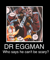 Dr Eggman motivational poster by Scurvypiratehog