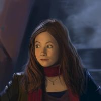 Amy Pond's whatever face by Andes-Sudo