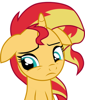 [Vector] Sunset Shimmer Pony #1 by PaganMuffin