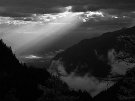 First morning in Switzerland by orographic