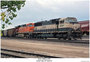 BNSF 9589 + 5781 by hunter1828