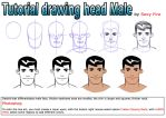 Tutorial  drawing head man by sexfire