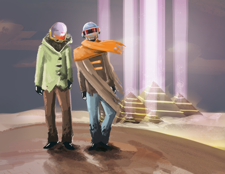 Daft Punk's Egypt by KevinNuut