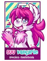 Badge Suu Valkyrie by Bathsua