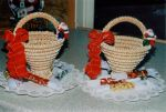 Kransekake baskets by LizzyLix