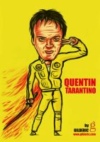 Quentin Tarantino by gilderic