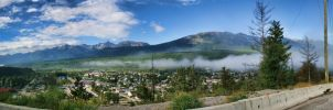 Cloud Rolling Down the Valley by skip2000