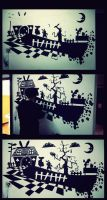 Painting the Wonderland on the Wall by drickenin