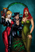 DC Bad Girls by OriginStory