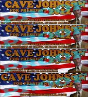 Cave Johnson for President 2012 by ChrisInVT