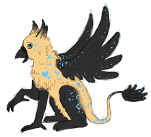 Special Gryphon by A-Blue-Fire