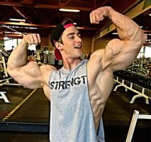 College Dude Muscle Morph by theology132