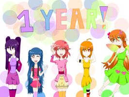1 year!! :3 by Paradise2498