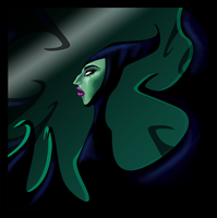 Maleficent by FrothingLizard