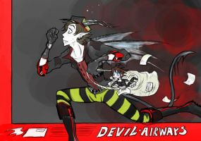DevilAirMail-basic color by Yaoi-slave