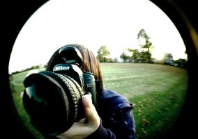 fisheye-on-fisheye action by angelwillz