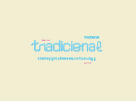 Tradicional  font by justbsf