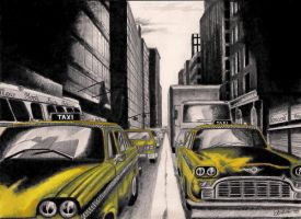 cabs by oneColouredRainbow