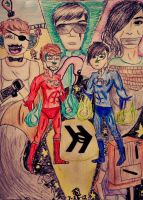 Smosh: Our Heroes by sapphiresoul123