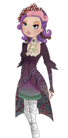 [EAH] [Spring Unsprung] -background purple girl- by Katechi