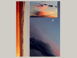 simple today evening sky abstraction 1 by creapicform