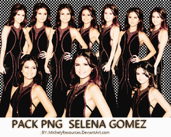 Pack png 154 Selena Gomez by MichelyResources