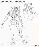 Japanese Android by Stormcrow135