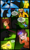 Gravity Falls Comic : Golden Surprise 22 by Jack-a-Lynn