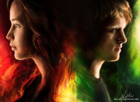 The Hunger Games Tributes by nma-art