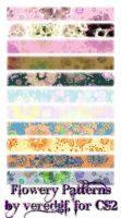 Flowery Patterns for CS2 by veredgf