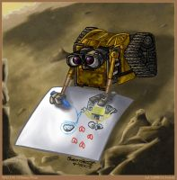 WALL-E: Artistic Maestro by julianwilbury