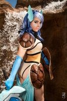 Valkyrie Warrior Wartortle by KOCosplay