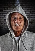 Old Thug by straight8photo
