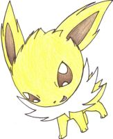 Chibi Jolteon by Simply-Auburn