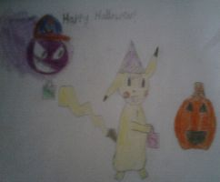 a Halloween pic by Jellybabiebunny