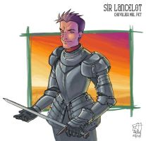 Sir Lancelot by Merystic