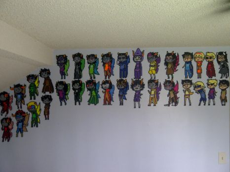 +The Great Wall of Homestuck+ by LingeringSentiments