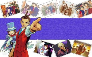Phoenix Wright Wallpaper by MaykoIshimura