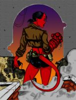 Hellgirl Colors by lordkelvelos