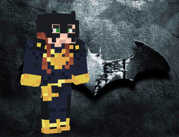 Batgirl Minecraft Skin by Kon13