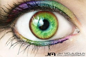 Rainbow Eye by ZockRock