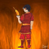 Zuko fire by JellyBean1050