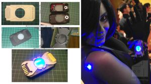 Cortana Data Chip corsage by Old-Trenchy