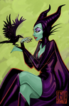 Maleficent by JennaleeAuclair