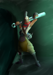 Ekko (Alternative Background) by tdal12