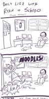 Ryan and Schroo in: Noodles by RomanJones