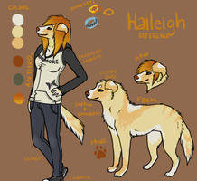 Haileigh Reference by pandapoots