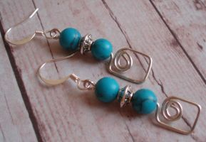 Wired Turquoise by Watergal